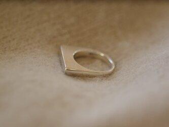 <受注オーダー>one (volume ring silver)の画像