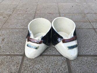 靴型プランターの画像