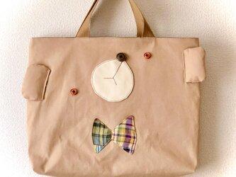 しっかり帆布Lesson bag【絵本袋】の画像