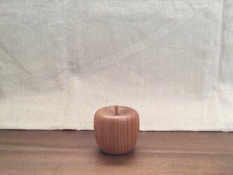 (受注制作)  木のりんご 小の画像