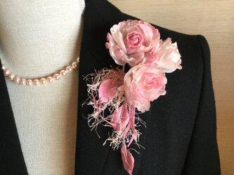 ピンク飾り紐付きの画像
