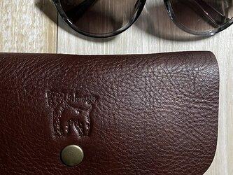 [シュナウザー]メガネケース(L)の画像