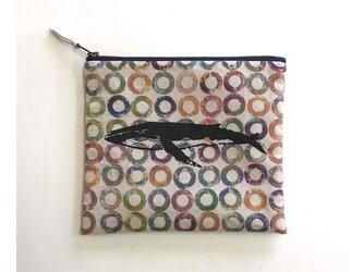 ファスナーポーチ[つみき×ザトウクジラ]の画像