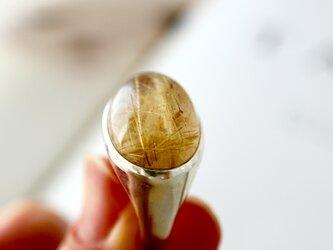 [ルチルの実]ルチルクォーツ 針水晶の画像