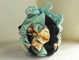 金平糖袋(瑠璃紋蜜蜂)の画像