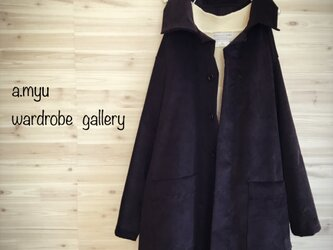 a.myu2020年新作♪オーバーサイズのコートジャケットコーデュロイの画像