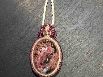 624-ガーデンクォーツのネックレスの画像