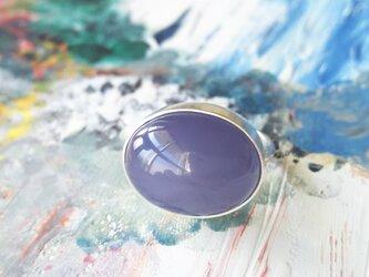 リング ブルーカルセドニーの画像