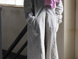 リネンウールのライトコート  の画像