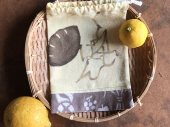 ☆sale☆巾着 和パン aの画像
