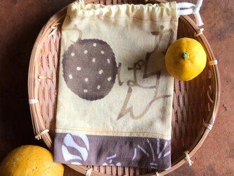 ☆sale☆巾着 和パン bの画像