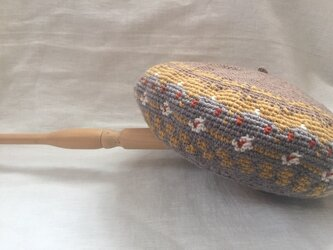 ベレエ帽 ユキモグラベージュの画像