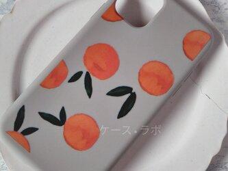 iphone11*スマホケース オレンジ  iPhoneケース iPhoneXR iPhone11pro iPhoneXSの画像