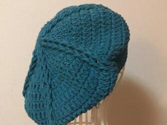 ニットベレー帽の画像