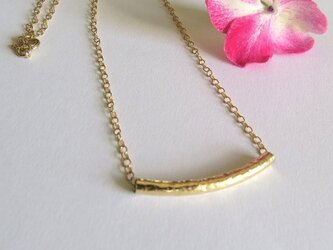 tube necklace パイプネックレスの画像