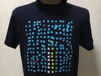 ミュージックマインド・ネイビー・Tシャツ【2TN-002-NY】の画像