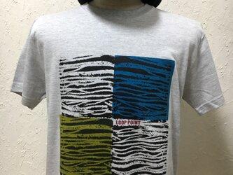 ループポイント・アッシュグレー・Tシャツ【2TN-004-AS】の画像