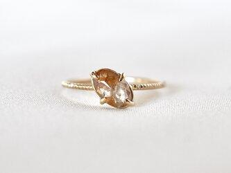 Bloom diamond ringの画像