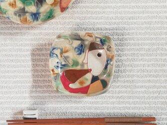 明るく、楽しく、美味しく!〈角小皿4〉の画像