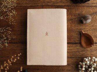 「読書がしたくなる」ヌメ革の文庫本ブックカバーの画像