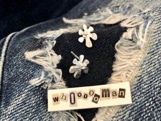【sliver ピアス】* wild flower *の画像