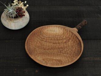 ≪branch≫ 七寸皿 (にれ)の画像