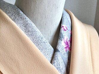 【1点のみ】半衿 流線形模様 正絹の画像
