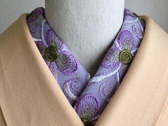 洗える半衿 アムンゼン織フーシェピンクの画像