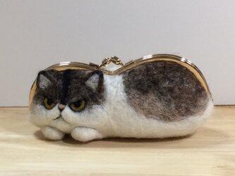 gamanekoチャペ※眼鏡ケースの画像
