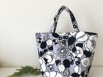 たっぷり入る❤︎花柄トートbagの画像