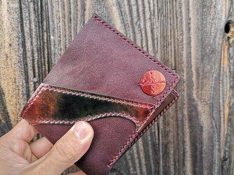 """二つ折り財布 全品一点物シリーズ """"Marble"""" HW-T1の画像"""