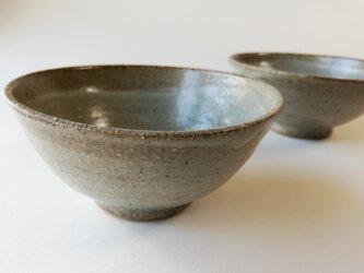 マット灰釉茶碗の画像
