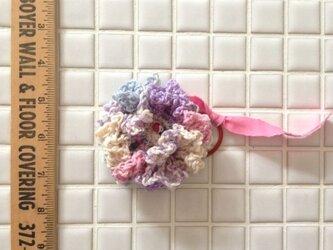 お花へアゴム/naif*メロディ 817の画像