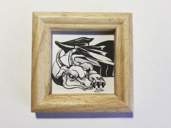 ミニ原画「ドラゴン」の画像