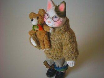縮緬福猫 セーター猫 その十三の画像