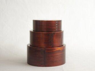 【日常に伝統工芸を】木曽檜入れ子曲げわっぱの画像