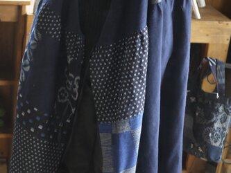 Y様専用  久留米絣カシュクールの画像