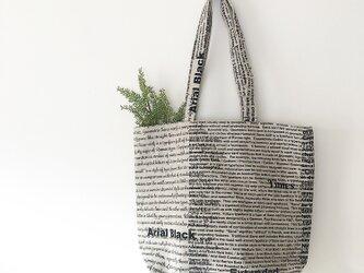 ショルダー❤︎英字柄bagの画像