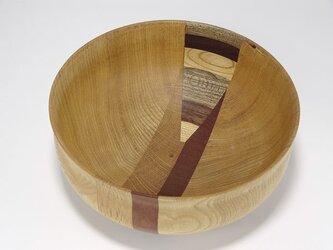 16×16×7cm ウッドボウル① wooden bowlの画像