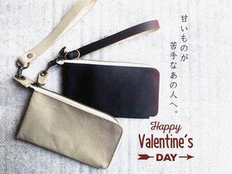 《バレンタイン》甘いものが苦手なあの人へ革ギフト「ペタントマルチ 財布」ミニマム・ミニマル・スマホ(PMW-ALL)の画像