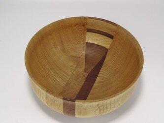 16×16×7cm ウッドボウル② wooden bowlの画像