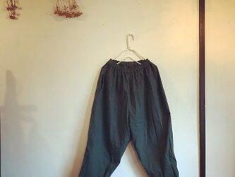 コットンリネンのラクチンパンツ(030)の画像