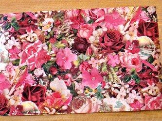U.S.A. ヴィンテージ包装紙【カントリーローズ】DA-WP016の画像