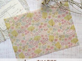 透ける模様紙【やわらかな森】の画像