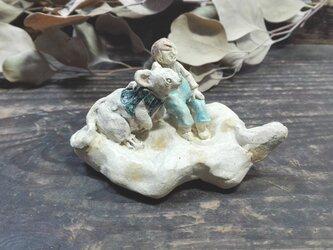 くものりネズミ -紺-の画像