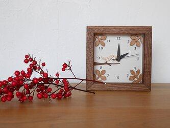 box clock ミニ 「小鳥の休息」の画像