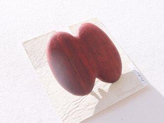 木製ブローチ【パドック】の画像