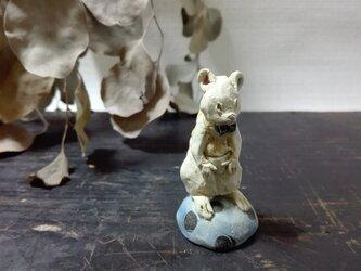 おすわりちびネズミ ―キイロ- の画像