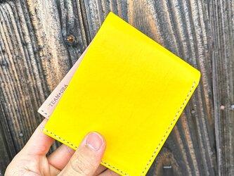 50万円が入る二つ折り財布の画像