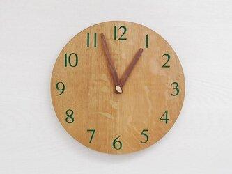 直径26cm 掛け時計 オーク【2013】の画像